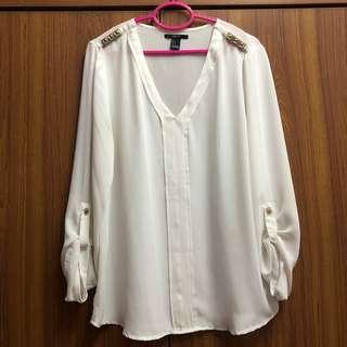 Forever 21 Blouse Top