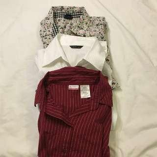 2 free 1 Blouse (Size S)