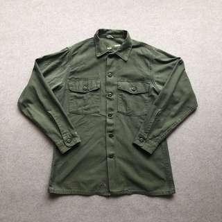 US Army 60s-70s OG107 Utility Shirt