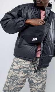 Black new balance fanny pack/bumbag