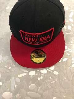 New Era logo trucker cap