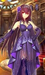 Scathach Heroic Spirit Formal Dress