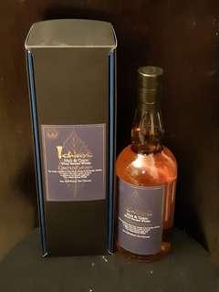 秩父 Ichiro's Malt & Grain - World Blended Whisky  藍葉