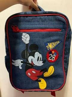 香港迪士尼 米奇 小朋友背囊