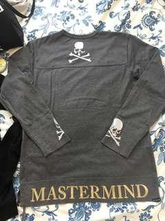 Mastermind World 17AW Sweater Grey Size L 灰色毛衣 mmw mmj japan