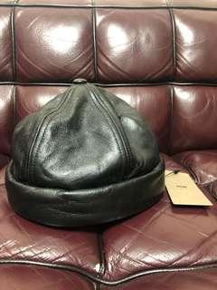 全新hare leather hat new