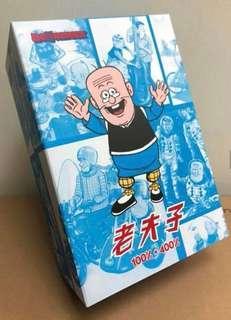 🚚 Mr Big Potato 老夫子 400% & 100% Bearbrick Master Q