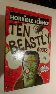 Horrible Science - Ten Beastly books