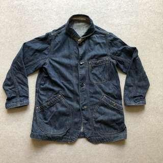 Pure Blue Japan Chore Jacket