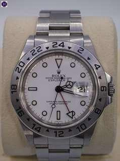 ROLEX Explorer 2 16570 White Face