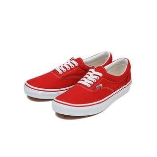 (減價預訂) Vans Era Red 紅色 男女款
