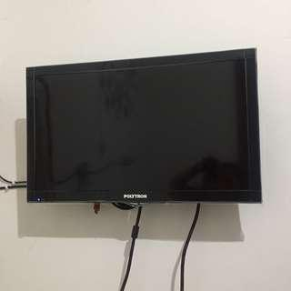 "Polytron TV LED 24"" inci inch"