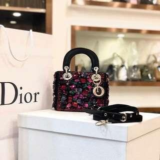 Authentic Pre-loved Christian Dior Limited Edition Mini Lady Dior