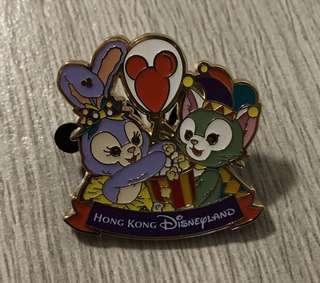 迪士尼襟章 Duffy family Stella Gelatoni Disney Pin 迪士尼徽章