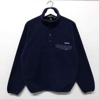 Patagonia 1996深藍Fleece Pullover衫🔥賣場商品任選兩件9折 三件85折🔥