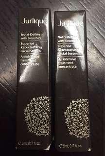 Jurlique superior retexturising facial serum 精華 5ml