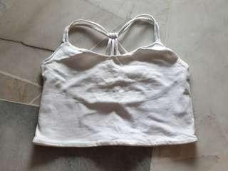 Pull and Bear Crop Tube Top