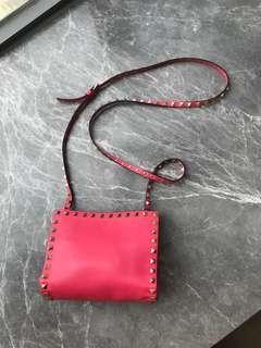 Valentino Studded Crossbody Sling Handbag
