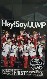 Hey Say JUMP Official First Photobook