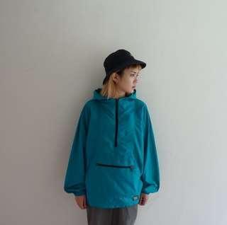 🚚 L.L.Bean湖水綠半拉鍊風衣外套🔥賣場商品任選兩件9折 三件85折🔥