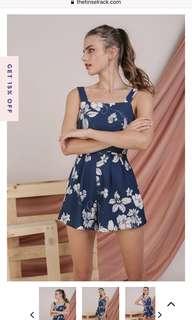 53e05f0eca7 Fayth Quintelle Lace Playsuit Blush (S)