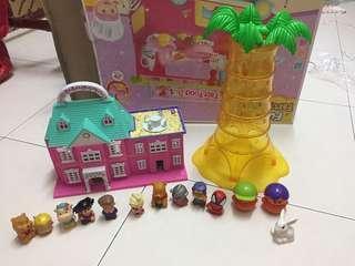 Dollhouse & toys