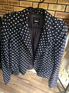 Sportsgirl dot jacket