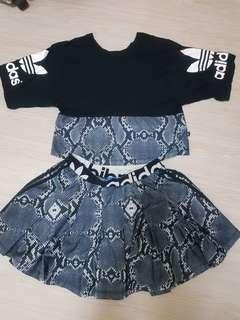 Adidas 時尚休閒套裝