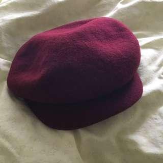 🚚 降價。全新 羊毛報童帽 #半價衣服市集