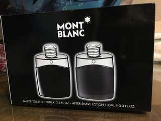 🚚 MONTBLANC LEGEND 萬寶龍 傳奇經典 香水禮盒 正貨 原廠