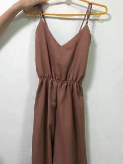 BRAND NEW Dusty pink jumpsuit