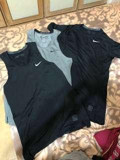 Nike pro 訓練衣 三件560