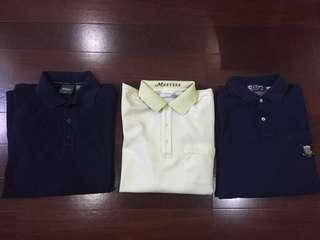 Combo branded golf shirts!