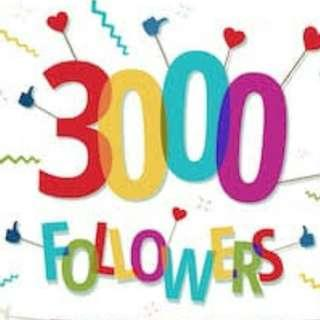 Beli 3000 followers aktif indonesia