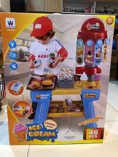[小孩玩具]角色扮演-豪華美式餐檯組販賣舖