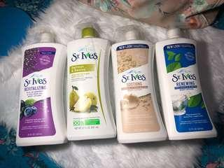 St Ives Body Lotion - Any 2 for P450