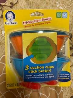 🚚 Baby feeding bowls with suction