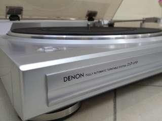 DENON DP-29F Fully Automatic Turntable System(Very new)