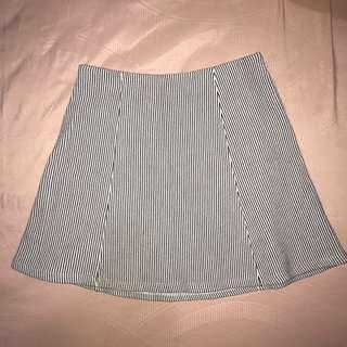 Mini Skirt Bershka Black and White