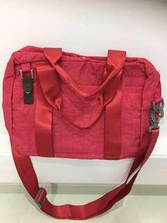 Red Traveling Bag