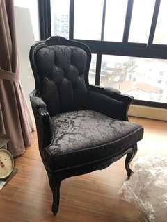 新古典單人椅