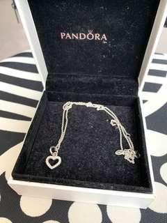 Pandora Necklace + Pendant