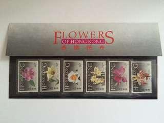 1985年花卉郵票套摺