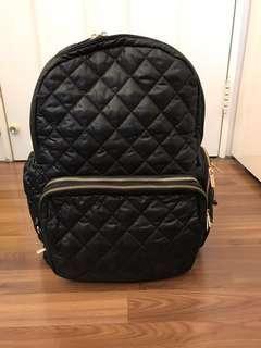 🚚 EPACHI 媽媽包(黑色菱格)XL size