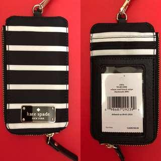 Kate Spade New York Edira Wilson Road Lanyard Wallet Brand New With Tags