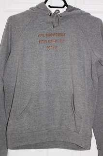 forever 21 ny grey hoodie