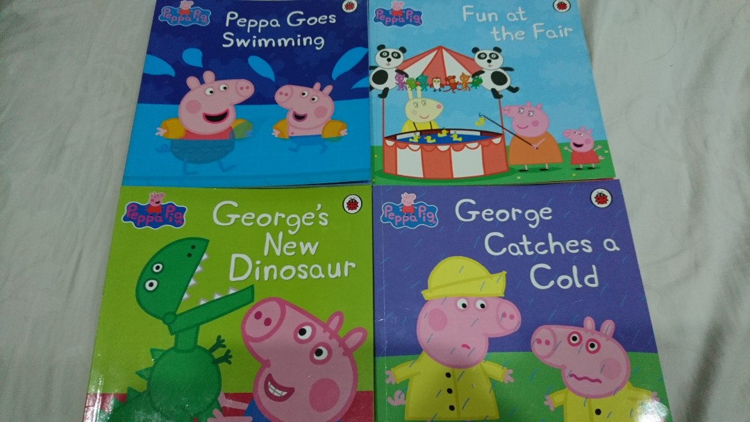 4 Books For 10 Peppa Pig Children Books