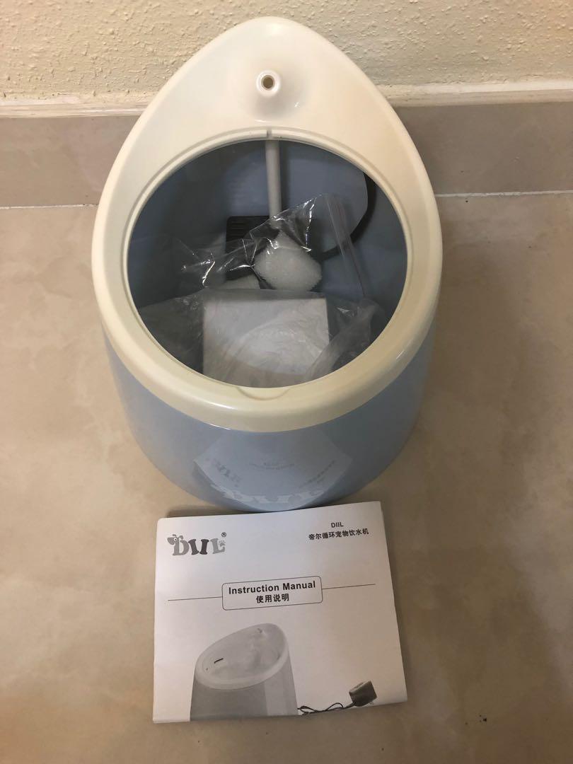寵物飲水機全新