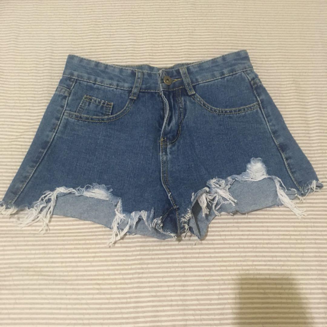 歐美牛仔短褲