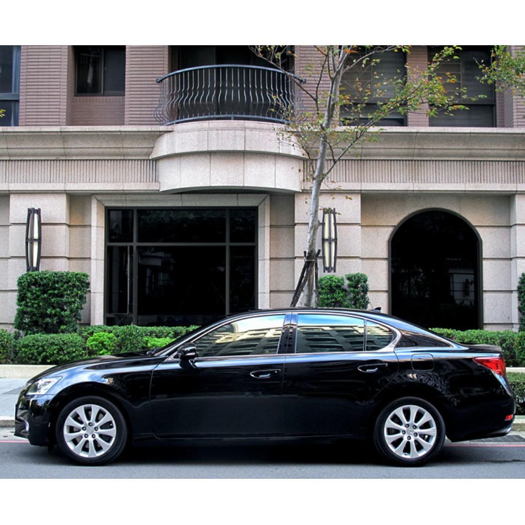 中型豪華房車 LEXUS GS250 配備超多 外觀氣派